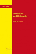 Translation and Philosophy