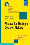 Finance for Strategic Decision Making