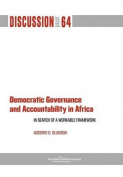 Democratic Governance and Accountability in Africa