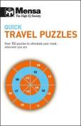 Mensa Quick Travel Puzzles