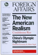 Foreign Affairs (US) - 1 year subscription - 6 issues