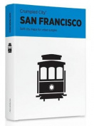 San Francisco Crumpled City Map
