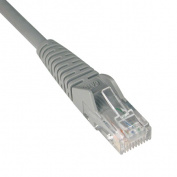 CAT6 Snagless Patch Cable, 7 ft., Gray