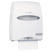 WINDOWS SANITOUCH Roll Towel Dispenser, 12 3/5 x 10 1/5 x 16 1/10, White