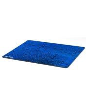"Mouse Pad, Extra Large, Raindrop Blue, 15"" x 13"""