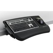 Tilt 'n Slide Keyboard Manager with Comfort Glide, 19-1/2w x 11-1/2d, Black