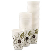 Dixie 16PPATH Pathways Polycoated Paper Cold Cups 16 oz 50 per Pack