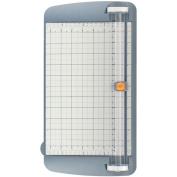 """TrimAir Titanium Rotary Paper Trimmer, Wide Base, 12"""", Grey"""