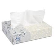 Angel Soft Ps 48550 Facial Tissue White 50 Sheets-Box 60 Boxes-Carton