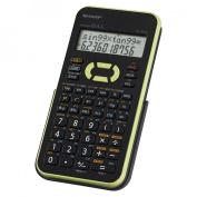 Sharp Electronics EL-531XBGR Engineering/Scientific Calculator, Green