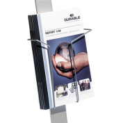 Durable Office Products Corp. DBL486423 Duo Sign Stand- Literature Dispenser- 9ft.x1-.38in.x8-.75in.- SR
