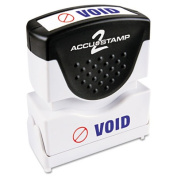ACCU-STAMP2(R) 1-Colour Stamps With Microban(R) Protection, Copy, Blue