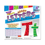 """Furry Friends Patchwork Friendly 4"""" Ready Letters, Multi-patterned Designs"""