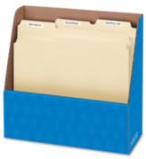 """Folder Holder, Letter, 11-3/4""""x4-1/2""""x11"""", Blue. 12 EA/BX."""