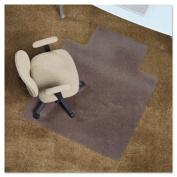 Chair Mat, 53 x 45, 25 x 12 Lip, Clear