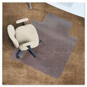 Chair Mat, 48 x 36, 20 x 10 Lip, Clear