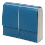 SuperTab Accordion Expanding File, 12 Pockets, Letter, Blue, 1/EA