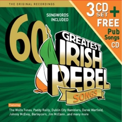 60 Greatest Irish Rebel Songs [Box]