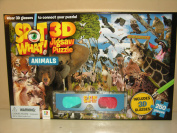 Spot What! 3D Jigsaw Wild Animals