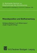 Rhizodeposition und Stoffverwertung [GER]