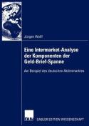 Eine Intermarket-Analyse Der Komponenten Der Geld-Brief-Spanne [GER]