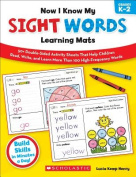 Scholastic Teaching Resources SC-539702 Now I Know My Sight Words Learning Mats