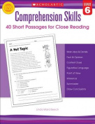 Scholastic Teaching Resources SC-546057 Comprehension Skills Gr 6 40 Short Passages For Close Reading