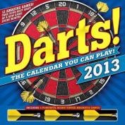 Darts! 2013 Wall Calendar