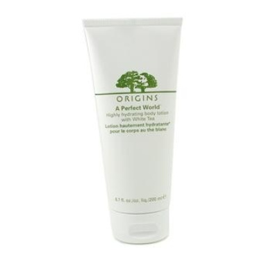 A Perfect World Highly Hydrating Body Lotion With White Tea, 200ml/6.7oz