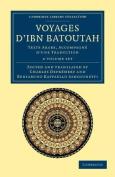Voyages D'Ibn Batoutah 4 Volume Set