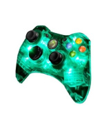 Afterglow Green Light Wired Controller