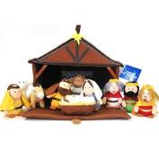 Nativity Plush 11 Piece Play Set