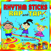 Kimbo Educational KIM9313CD Rhythm Sticks Rap and Tap Cd