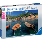 Harbour of Portofino 1000 Piece Jigsaw Puzzle - Ravensburger
