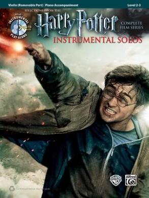 Harry Potter Instrumental Solos for Strings: Violin, Book & CD (Pop Instrumental Solo)