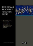 The Human Resource Function Audit