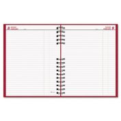 Brownline C550C-RED CoilPRO Daily Planner, Ruled, 1 Page-Day, 7. 88 x 10, Red, 2013