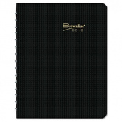 Brownline CB950V. BLK DuraFlex Weekly Planner, 8. 5 x 11, Black, 2013
