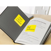 Post-It Notes Super Sticky F3304SSAU Full Adhesive Notes 3 x 3 Assorted Bright Colors 4-Pack