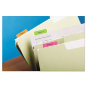 Post-It 686-PLOY Hanging File Tabs 2 x 1.5 Solid Flat Assorted Bright 24-PK