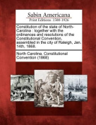 Constitution of the State of North-Carolina