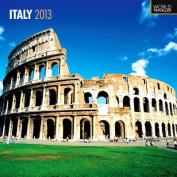 Italy 2013 Square 12x12 Wall Calendar
