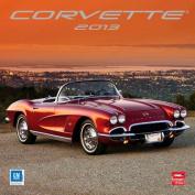 Corvette 2013 Square 12x12 Wall Calendar