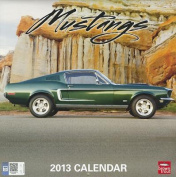 Mustangs 2013 Square 12x12 Wall Calendar