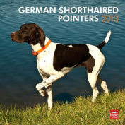German Shorthaired Pointer, 2013 12x12 Square Wall Calendar