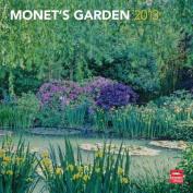 Monet's Garden 2013 Square Wall