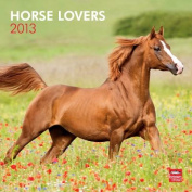 Horse Lovers 2013 Square 12x12 Wall Calendar