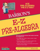 E-Z Pre-algebra (E-Z Series)