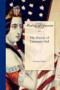 History of Tammany Hall