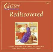 Gregorian Chant Rediscover D [Audio]